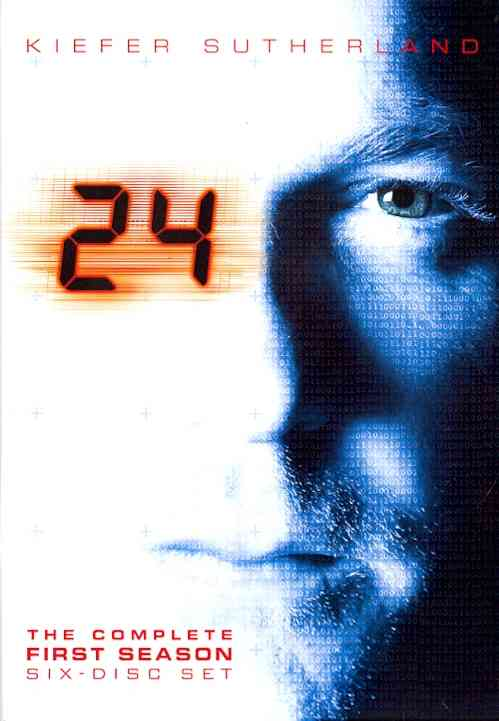 24:SEASON 1 BY 24 (DVD)